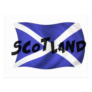 De Golvende Vlag van Schotland Briefkaart