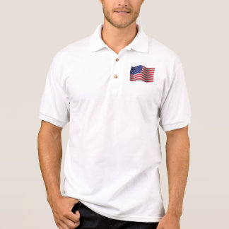 De Golvende Vlag van Verenigde Staten Polo