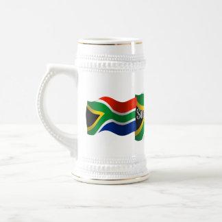 De Golvende Vlag van Zuid-Afrika Bierpul