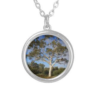 De gomboom van het spook, Binnenland Australië Zilver Vergulden Ketting