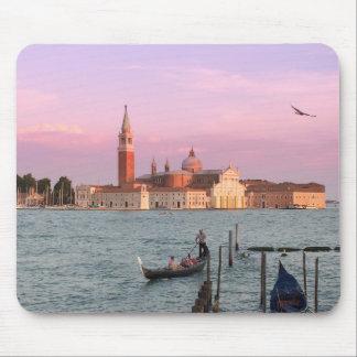 De Gondels Mousepad van Venetië Italië Muismat
