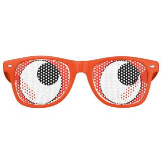 De googly-Ogen van de pret Oranje (omhoog) Partij Festival Zonnebril