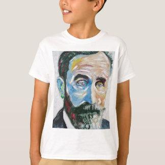 de gordijnstof van Roger T Shirt