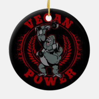 De Gorilla van de Bodybuilder van de Macht van de Rond Keramisch Ornament