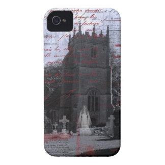 De gothic Achtervolgde hoesje-Partner van iPhone v iPhone 4 Hoesje