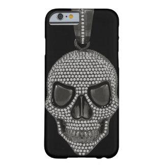 De gotische Gedrukte Schedel van de Diamant Barely There iPhone 6 Hoesje