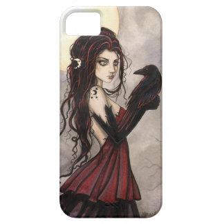 De gotische Heks van de Kunst van de Fantasie en Barely There iPhone 5 Hoesje