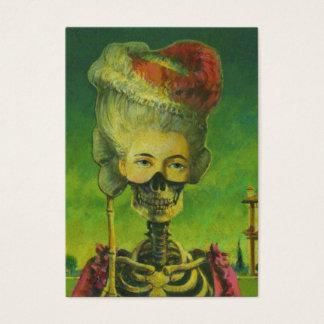 De gotische Kunstenaars die van het Skelet ACEO Visitekaartjes