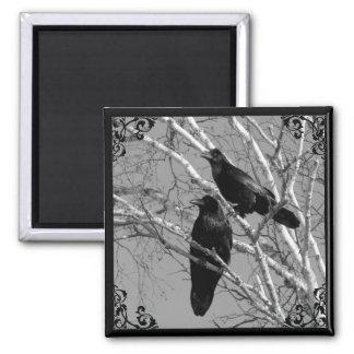 De Gotische magneet van twee Raven
