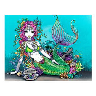 De Gotische Meermin van Lyra Briefkaart