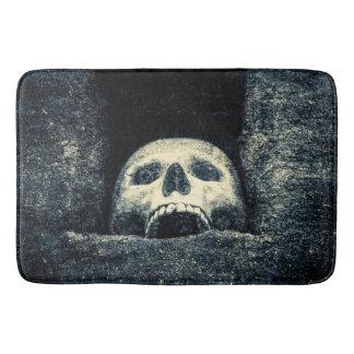 De gotische Schedel van Halloween Badmatten