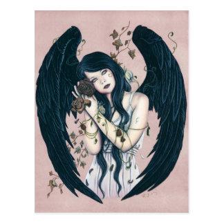 De gotische Schoften van het Bederf van de Engel Briefkaart