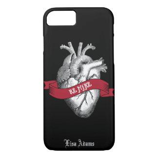 De gotische Valentijnsdag van het Hart iPhone 8/7 Hoesje
