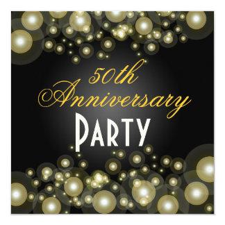 De gouden, 50ste Uitnodigingen van het Jubileum