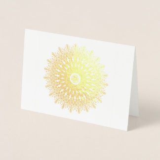 De gouden fantasie van de folie folie kaarten