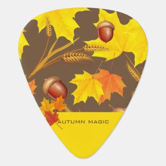 De gouden Herfst Gitaar Plectrums 0