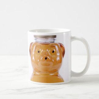 De gouden Honing draagt Opgeruimd Gezicht 2 Koffiemok