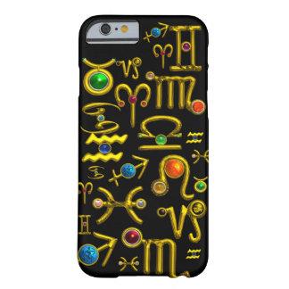 DE GOUDEN JUWELEN VAN DE VERJAARDAG VAN DE BARELY THERE iPhone 6 HOESJE