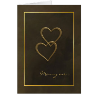 De gouden kaart van het hartenaanzoek