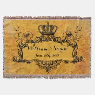 De gouden Koninklijke Kroon van het Huwelijk van Deken