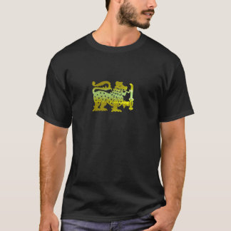 De gouden Leeuw van Ceylon T Shirt