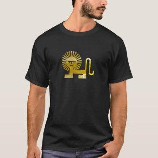 De gouden Leeuw van de Zon T Shirt