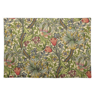 De Gouden Lelie van William Morris Placemat