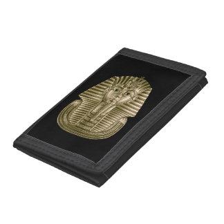 De gouden Nylon Portefeuille van Tut TriFold van