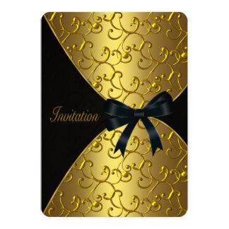De gouden Partij van de Verjaardag van de Kaart