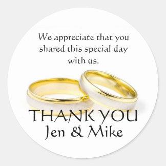 De gouden Ringen danken u de Stickers van de Gunst