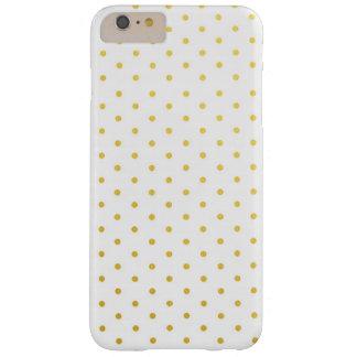 De gouden stippen van de mode barely there iPhone 6 plus hoesje