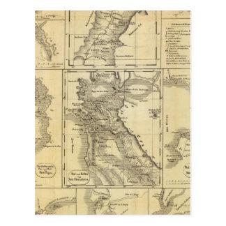 De Gouden Stormloop van Californië Briefkaart