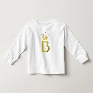 De gouden van de Folie Aanvankelijke T-shirt van