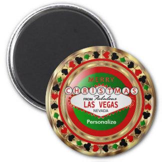 De gouden Vrolijke Stijl van Las Vegas van Magneet