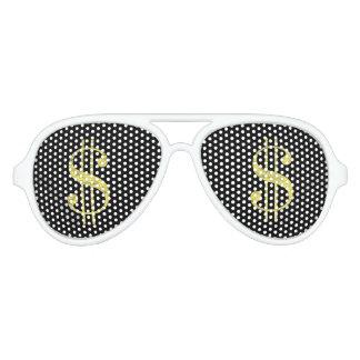 De gouden Zonnebril van de Gunst van de Partij van