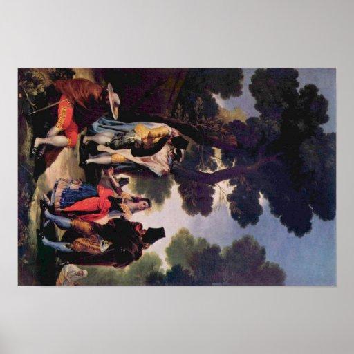 DE Goya Artwork Plaat