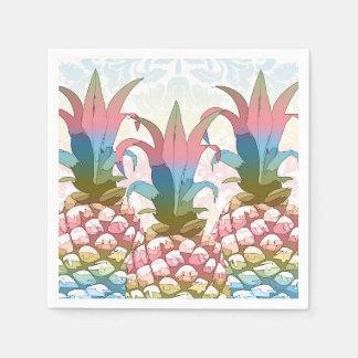 De Gradiënt ID246 van de Pastelkleur van de ananas Papieren Servetten
