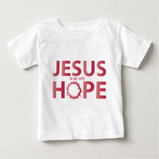 de gradiënt van de de hoopzalm van Jesus Baby T Shirts