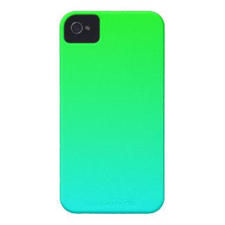 De Gradiënt van het Limoen van Aqua iPhone 4 Hoesje
