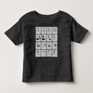 De Grafiek van de Emotie van het Karakter LOONEY Kinder Shirts