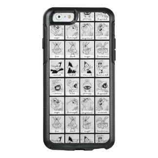 De Grafiek van de Emotie van het Karakter LOONEY OtterBox iPhone 6/6s Hoesje