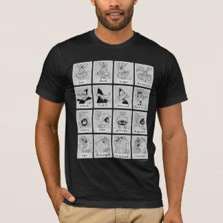 De Grafiek van de Emotie van het Karakter LOONEY T Shirt