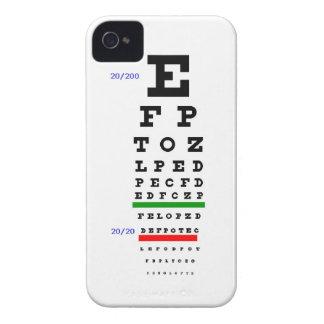 De Grafiek van het Examen van het oog iPhone 4 Hoesje