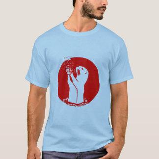 De Granaat van de Hand van de Otter van het zee T Shirt