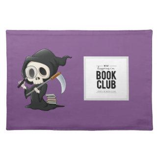De Grap van de Plaatsing van de boekenclub Placemat