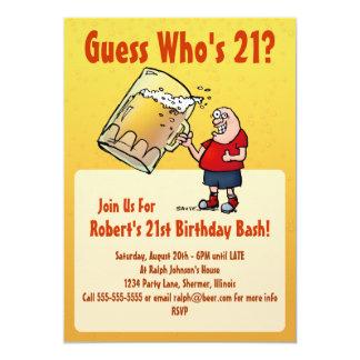 De grappige 21ste Uitnodiging van de Partij van de