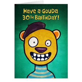 De grappige 30ste Kaart van de Verjaardag voor haa
