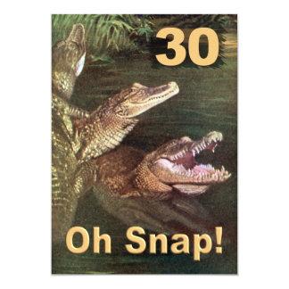 De grappige 30ste Uitnodigingen van de Partij van