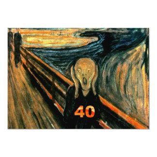 De grappige 40ste Uitnodigingen van de Verjaardag