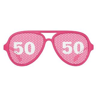 De grappige 50ste partij van de Verjaardag stelt | Aviator Zonnebril